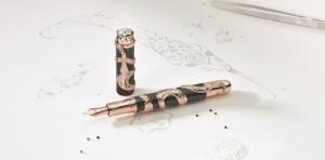 Montblanc_RN_The-Ultimate-Serpent_LE1 Перо Montblanc, перьевая ручка стоимостью 1, 37 млн. долларов
